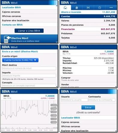 Bbva lanza su aplicacion para blackberry diario de una for Telefono oficina bbva